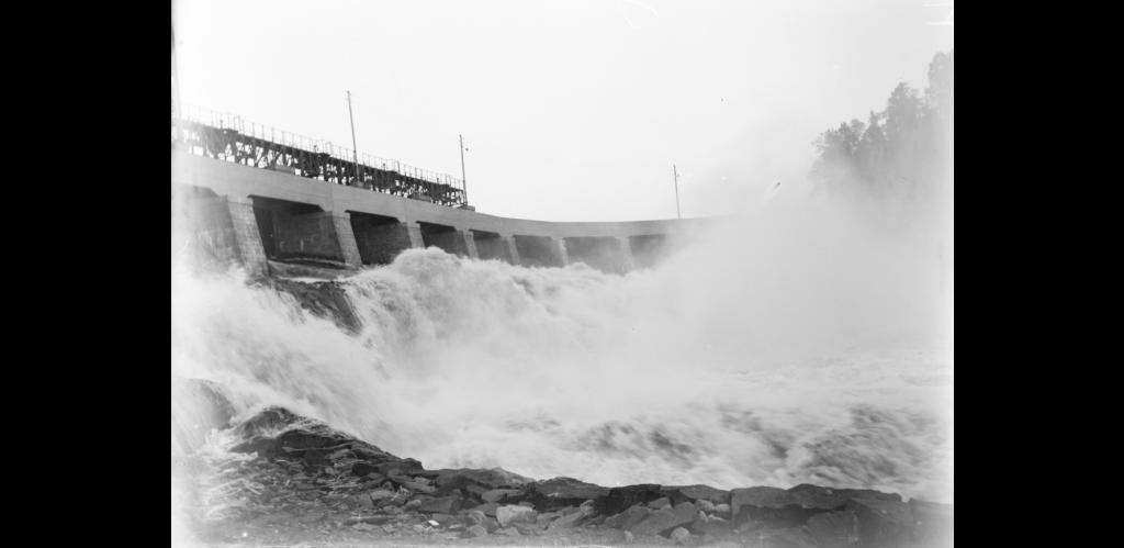 bild vattenkraftverk